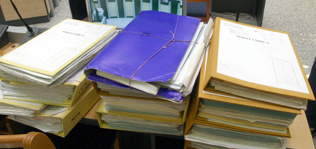 Haško arhivsko blago je ogromno