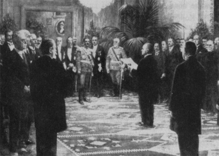 Proglašenje Kraljevine Srba, Hrvata i Slovenaca