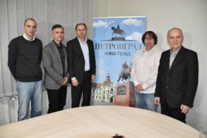 Konferencija za novinare udruženja Petrovgrad. FOTO J. Njegović Drndak