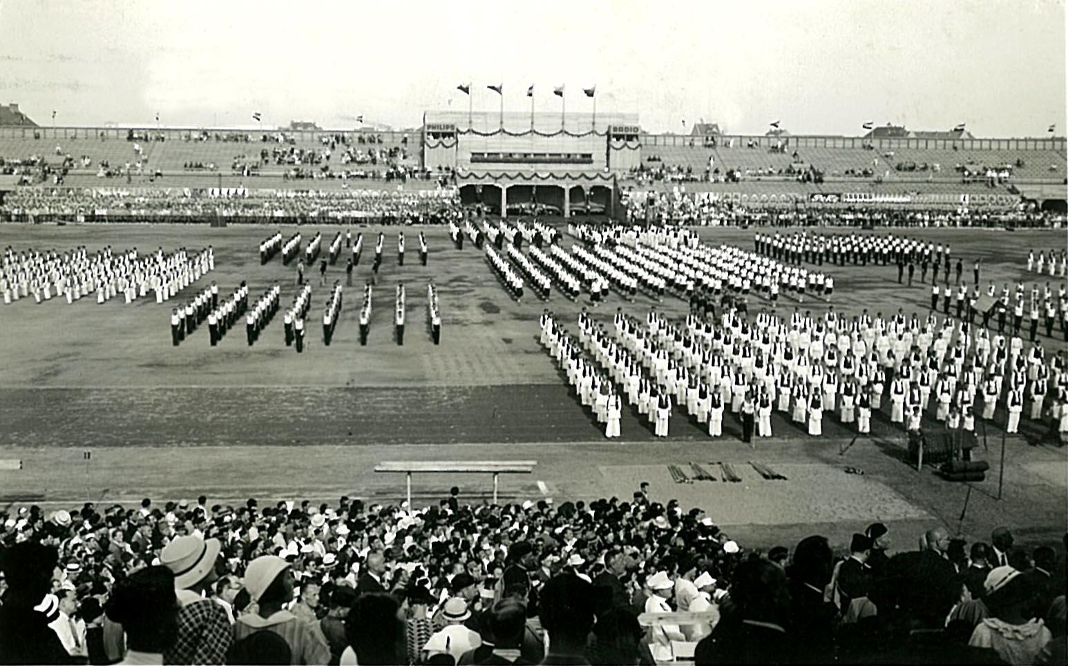Sokolski slet u Zagrebu 1934.
