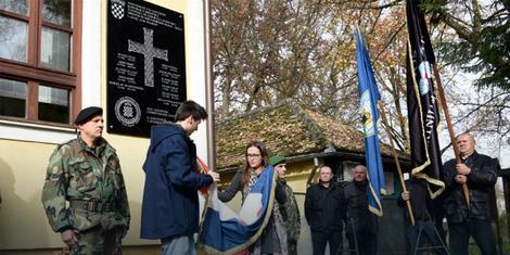 Spomen ploča u Jasenovcu Foto: udhos-zagreb.hr / Promo