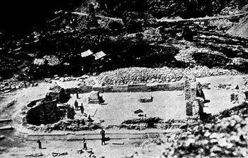Sveti Arhangeli, Glavna crkva, nakon iskopavanja 1927. godine