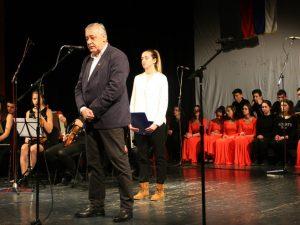 Trebinje - Savčić na svečanoj akademiji Foto: SRNA