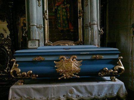 Ćivot cara Uroša u manastiru Jazak; foto: Vikipedija