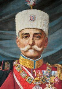 Kralj Petar I - Rad Uroša Predića