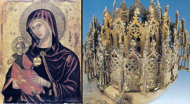 Deo relikvija iz fruškogorskih manastira koje je profesor Grujić vratio iz Hrvatske; Foto: Novosti