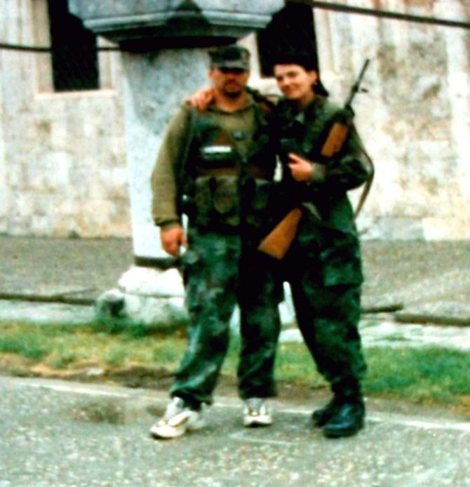 Slađana Stanković i njen suprug Jurij