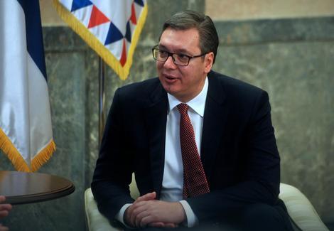 Aleksandar Vučić Foto: Dimitrije Goll / Tanjug