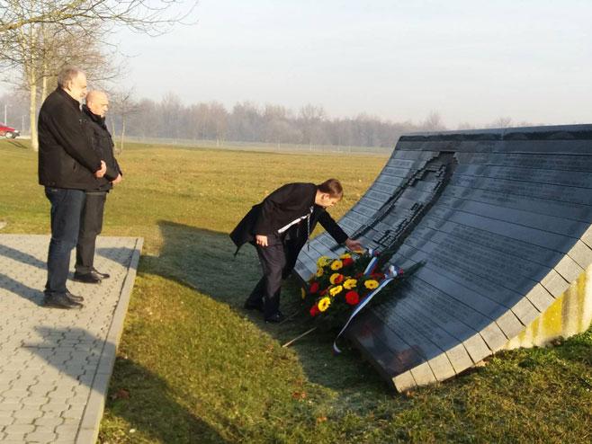 Donja Gradina - sjećanje na Holokaust Foto: RTRS