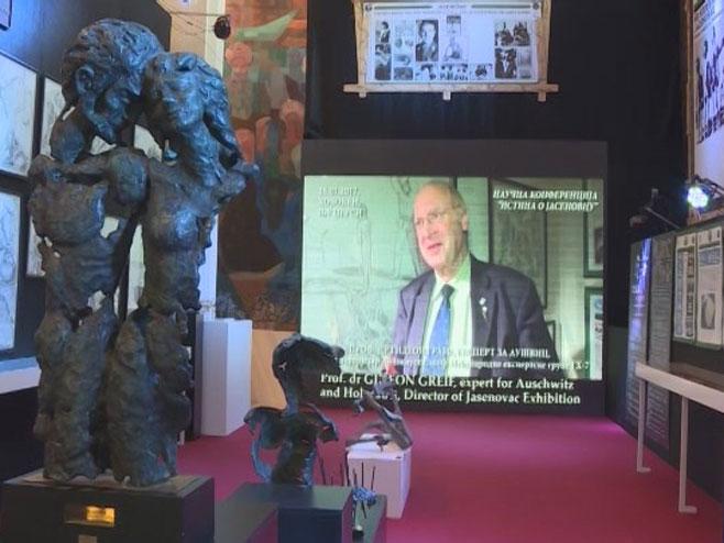 Izložba o Jasenovcu u UN Foto: RTRS