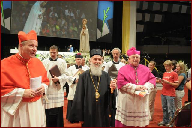 Patrijarh Irinej u Beču