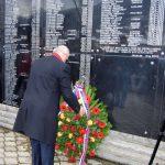 Izaslanik predsjednika Republike Srpske Miladin Dragičević u Skelanima, gdje je danas održan pomen i polaganja vijenaca na centralni spomenik za stradalih 69 stanovnika koje su 16. januara 1993. godine ubile muslimanske snage iz Srebrenice pod komandom Nasera Orića.