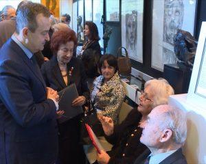 Ivica Dačić na otvaranju izlože o Jasenovcu u Njujorku (Foto MSP-Tanjug)