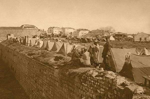 Srpski logor na krfskoj tvrđavi