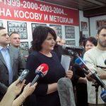 Predstavnik Udruženja porodica kidnapovanih i ubijenih na Kosovu i Metohiji Snežana Marković Zdravković.