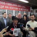 Јоргованка Поповић, мајка убијеног 17-годишњег Димитрија, рекла је да њен син није хтио да оде са Космета, те да је убијен са хљебом у рукама, када је пуцано у групу српских средњошколаца из возила у покрету, те да ће њен син гробом чувати Косово.