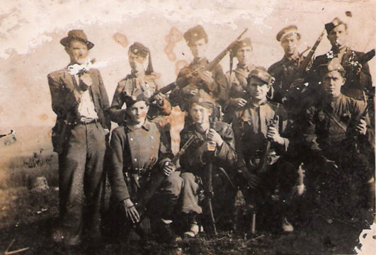 Četnici Crnovrške brigade Srednjobosanskog korpusa
