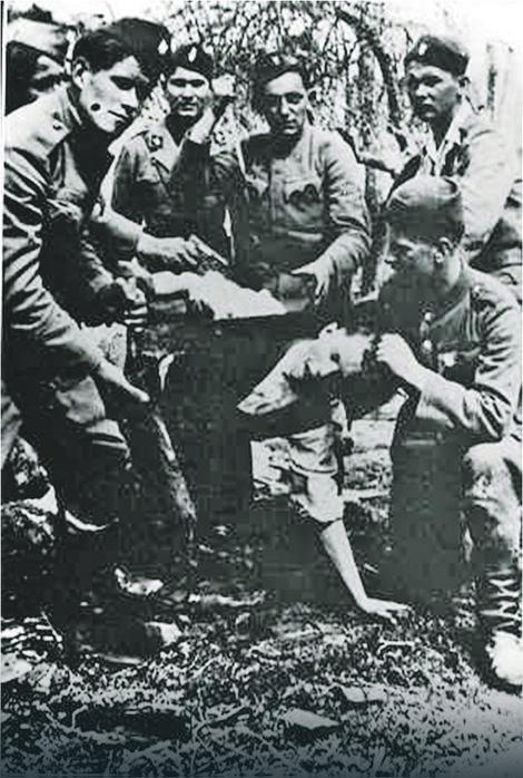 Decu su terali da gledaju kako ustaše ubijaju i kolju Foto: Wikipedia