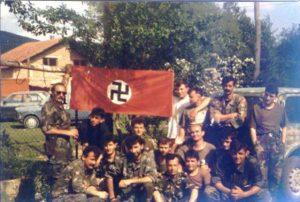 Hrvatski vojnici u Bugojnu 1992.godine