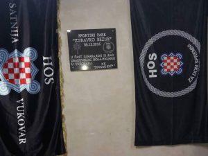 """Kutina - ploča """"za dom spremni"""" (Foto:direktno.hr)"""