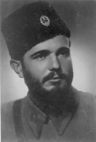 Major Lazar Tešanović, komandant Srednjobosanskog korpusa