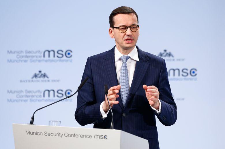 Poljski premijer na konferenciji u Muenchenu