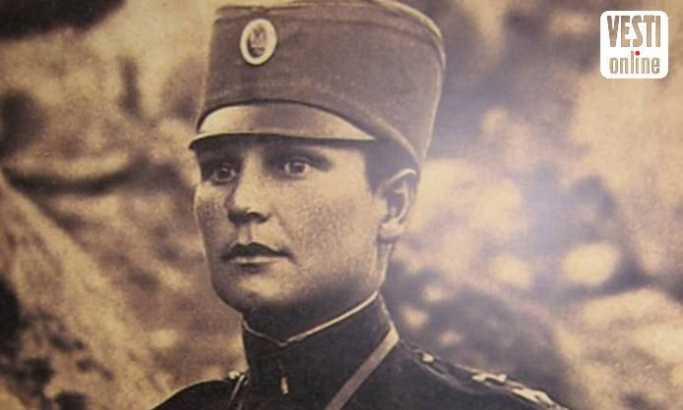 Iz ratnih dana: Milunka Savić foto: D. N. Petrović