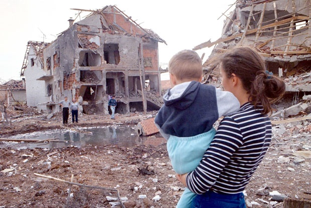 Posledice razaranja u Ćupriji, Foto D. Milovanović