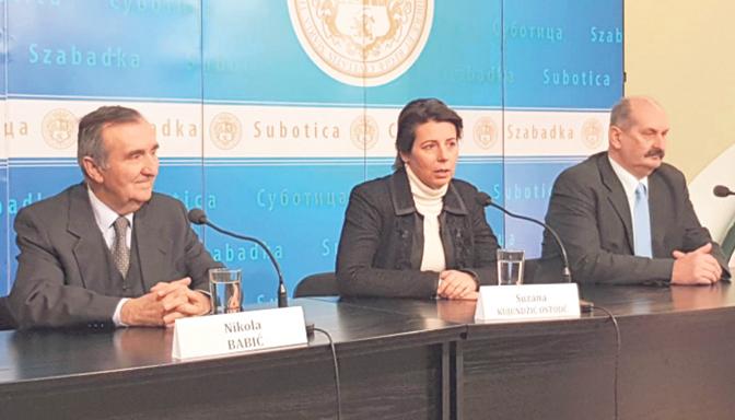 Nikola Babić, dr Suzana Kujundžić Ostojić i Mirko Bajić (Foto N. Tumbas)