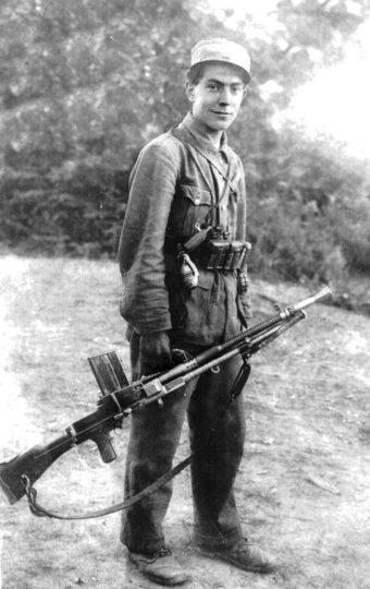 Остоја Гачић из Повелича, четник 2. чете 3. батаљпна Мотајичке бригаде Средњобосанског корпуса