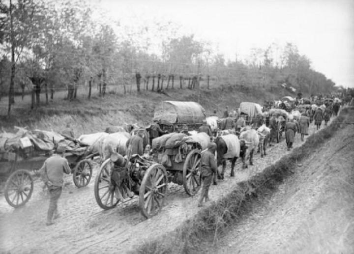Povlačenje srpske vojske. Iz slobodnih izvora
