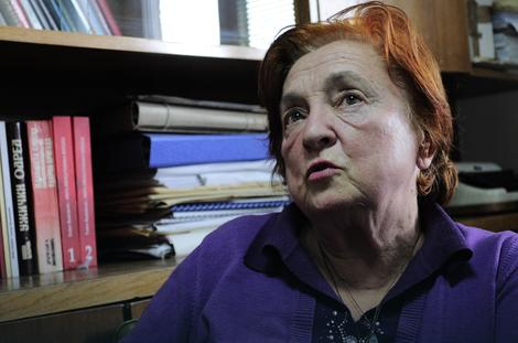 Radmila Jović je bila beba u Jasenovcu Foto: D. Milenković / RAS Srbija