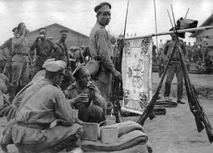 Ruska vojska u Solunu. Iz slobodnih izvora
