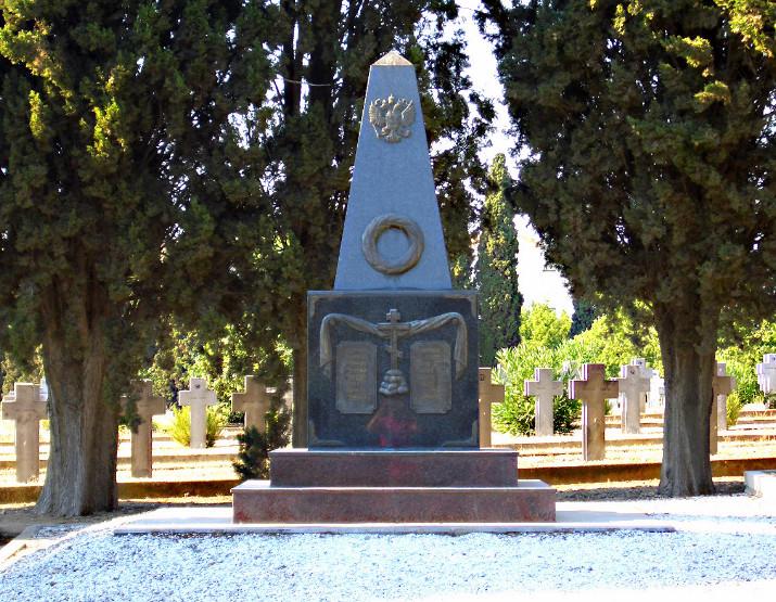 Ruski spomenik na groblju Zejtinlik. Ωριγένης/Wikipedia
