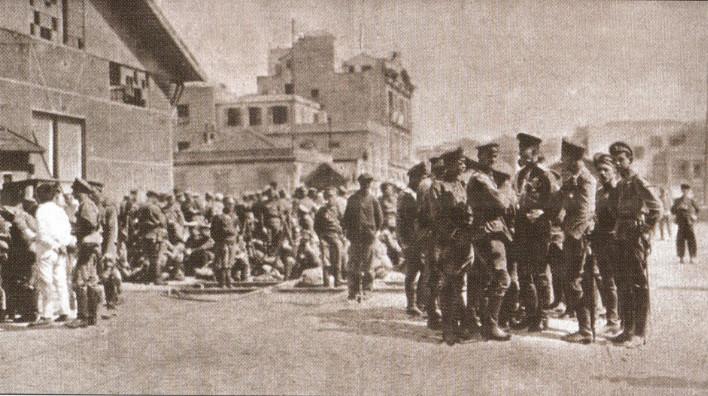Ruski vojnici stižu u Solun. Iz slobodnih izvora