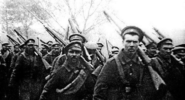 """Ruski vojnici za vreme Prvog svetskog rata. RIA """"Novosti"""""""