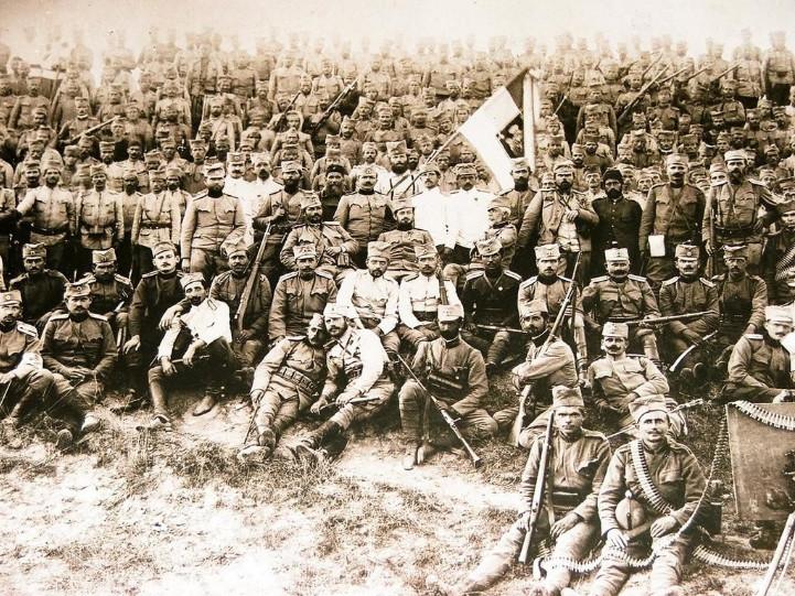 Srpski vojnici na Krfu. Ognjen Odobasic/Wikipedia