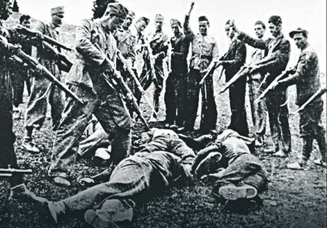 Zarobljenike su tukli maljevima i čekićima Foto: Memorijalni muzej Jasenovac / United States Holocaust Memorial Museum
