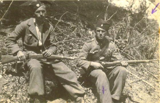 Veljko Jovanović i Milenko Savičić, četnici Jošavačke brigade