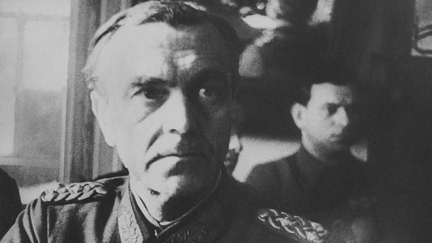 drih Paulus u štabu Crvene armije u Staljingradu, 1. mart 1943. AP / Russia beyond