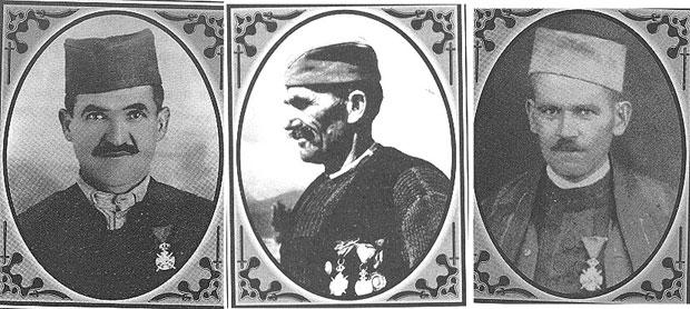 Živojin Rajković, Ljubomir Ršumović i Branislav Raković