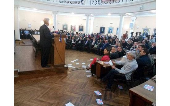 Predavanje Kajla Skota u Nišu (Foto: M. Zirojević/Južne vesti)