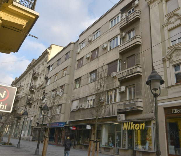 Zgrada u beogradskoj ulici Vuka Karadžića Foto V. Danilov