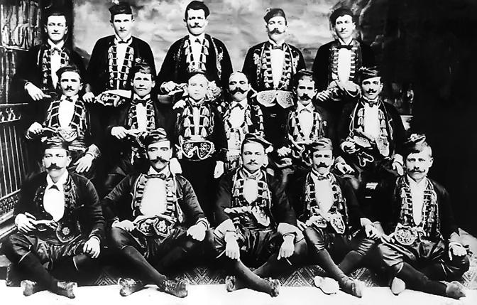 Bokeljska mornarica 1905. godine (Foto Privatna arhiva )
