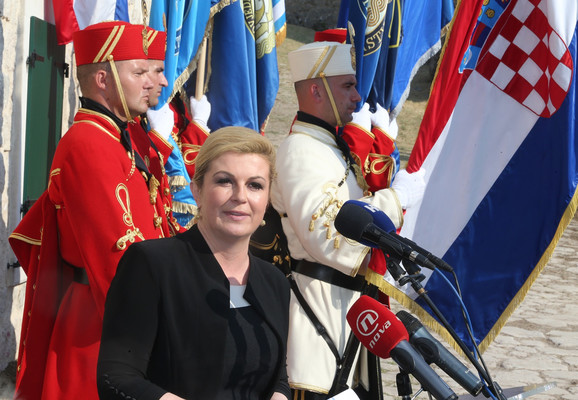 Kolinda Grabar Kitarović je nedavno posetila hrvatsku dijasporu u Argentini