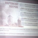 Obilježavanje 14 godina od martovskog pogroma.