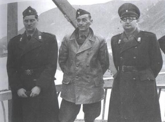 Eugen Dido Kvaternik, Jure Francetić i Mladen Lorković