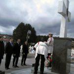 Delegacija Grada Istočno Sarajevo, položila vijence na centralni krst u Vojničkom spomen-groblju na Sokocu.