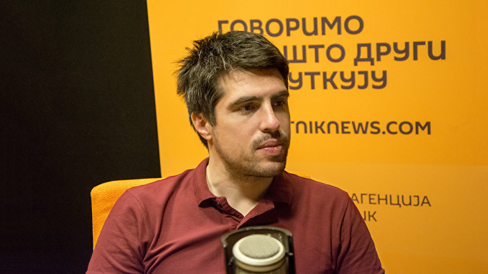 Istoričar Milutin Živković © SPUTNIK/ ALEKSANDAR MILAČIĆ