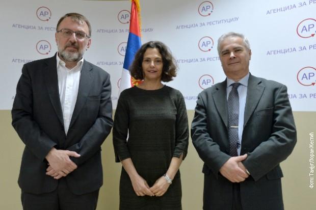 Strahinja Sekulić, Alona Fišer Kam i Robert Sabadoš